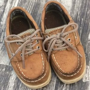 Toddler boys sperry Top siders billfish sz 7